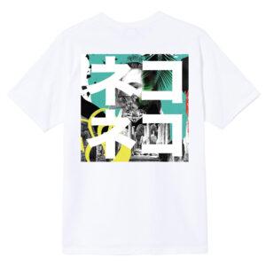 T-shirt white OVERLAP