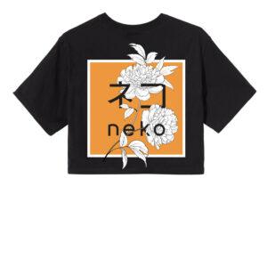 T-shirt orange KIKU W